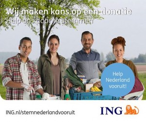 ING ACTIE HELP NEDERLAND
