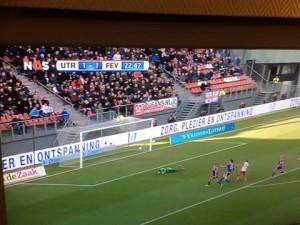 LED BOARDING RECLAME BIJ FC UTRECHT