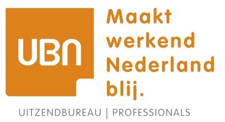 ubn maakt werkend nederland blij logo inclusief uitzendbureau en professionals